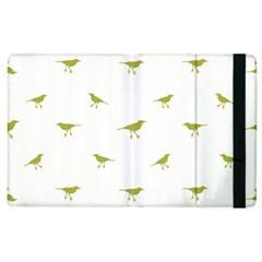 Birds Motif Pattern Apple Ipad 3/4 Flip Case by dflcprints