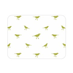 Birds Motif Pattern Double Sided Flano Blanket (mini)  by dflcprints