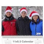 Calendar  Brice 2018 - Wall Calendar 11  x 8.5  (12-Months)