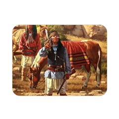 Apache Braves Double Sided Flano Blanket (mini)  by AllThingsEveryone