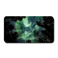 Northern Lights In The Forest Medium Bar Mats by Ucco