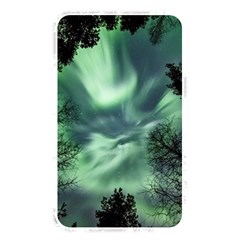 Northern Lights In The Forest Memory Card Reader by Ucco