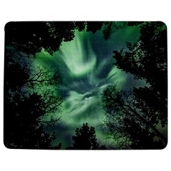 Northern Lights In The Forest Jigsaw Puzzle Photo Stand (rectangular) by Ucco