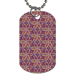 Flower Kaleidoscope 2 01 Dog Tag (two Sides) by Cveti
