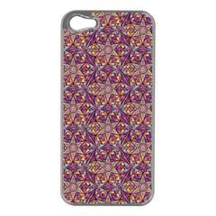 Flower Kaleidoscope 2 01 Apple Iphone 5 Case (silver) by Cveti