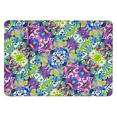 Colorful Modern Floral Print Samsung Galaxy Tab 8 9  P7300 Flip Case by dflcprints