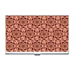 Flower Star Pattern  Business Card Holders by Cveti