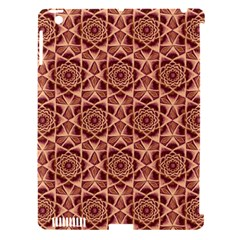 Flower Star Pattern  Apple Ipad 3/4 Hardshell Case (compatible With Smart Cover)