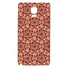 Flower Star Pattern  Galaxy Note 4 Back Case by Cveti