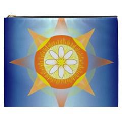 Star Pattern Background Cosmetic Bag (xxxl)  by Celenk