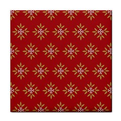 Pattern Background Holiday Face Towel by Celenk