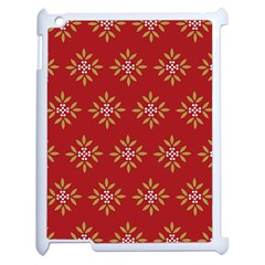 Pattern Background Holiday Apple Ipad 2 Case (white) by Celenk