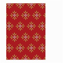 Pattern Background Holiday Small Garden Flag (two Sides) by Celenk