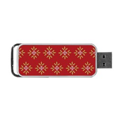 Pattern Background Holiday Portable Usb Flash (one Side) by Celenk