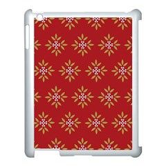 Pattern Background Holiday Apple Ipad 3/4 Case (white) by Celenk