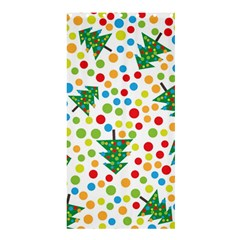 Pattern Circle Multi Color Shower Curtain 36  X 72  (stall)  by Celenk
