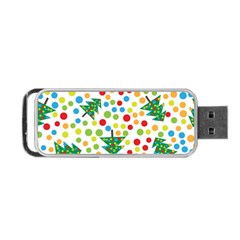 Pattern Circle Multi Color Portable Usb Flash (one Side) by Celenk