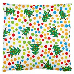 Pattern Circle Multi Color Standard Flano Cushion Case (one Side) by Celenk