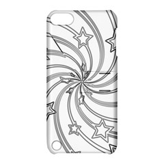 Star Christmas Pattern Texture Apple Ipod Touch 5 Hardshell Case With Stand by Celenk
