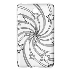 Star Christmas Pattern Texture Samsung Galaxy Tab 4 (8 ) Hardshell Case  by Celenk