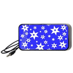 Star Background Pattern Advent Portable Speaker by Celenk