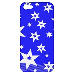 Star Background Pattern Advent Apple Iphone 5 Hardshell Case by Celenk
