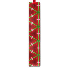 Textured Background Christmas Pattern Large Book Marks by Celenk