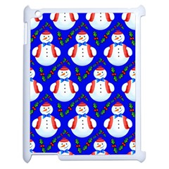 Seamless Repeat Repeating Pattern Apple Ipad 2 Case (white) by Celenk