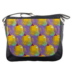 Seamless Repeat Repeating Pattern Messenger Bags by Celenk