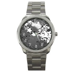 Background Celebration Christmas Sport Metal Watch by Celenk