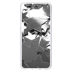 Background Celebration Christmas Samsung Galaxy S8 Plus White Seamless Case by Celenk