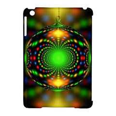 Christmas Ornament Fractal Apple Ipad Mini Hardshell Case (compatible With Smart Cover) by Celenk