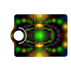 Christmas Ornament Fractal Kindle Fire Hd (2013) Flip 360 Case by Celenk