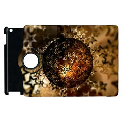 Christmas Bauble Ball About Star Apple Ipad 3/4 Flip 360 Case by Celenk