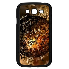 Christmas Bauble Ball About Star Samsung Galaxy Grand Duos I9082 Case (black) by Celenk
