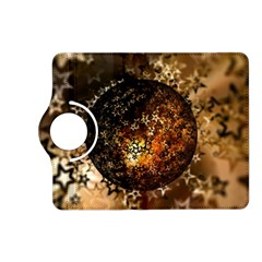 Christmas Bauble Ball About Star Kindle Fire Hd (2013) Flip 360 Case by Celenk