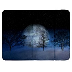 Winter Wintry Moon Christmas Snow Samsung Galaxy Tab 7  P1000 Flip Case by Celenk