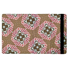 Pattern Texture Moroccan Print Apple Ipad 3/4 Flip Case by Celenk