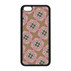 Pattern Texture Moroccan Print Apple Iphone 5c Seamless Case (black) by Celenk
