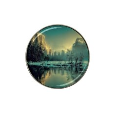 Yosemite Park Landscape Sunrise Hat Clip Ball Marker by Celenk