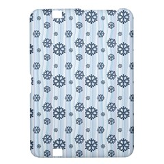 Snowflakes Winter Christmas Card Kindle Fire Hd 8 9  by Celenk