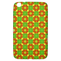 Pattern Texture Christmas Colors Samsung Galaxy Tab 3 (8 ) T3100 Hardshell Case