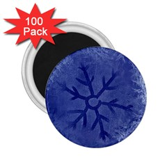 Winter Hardest Frost Cold 2 25  Magnets (100 Pack)  by Celenk