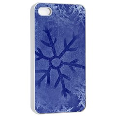 Winter Hardest Frost Cold Apple Iphone 4/4s Seamless Case (white) by Celenk