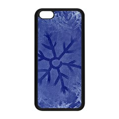 Winter Hardest Frost Cold Apple Iphone 5c Seamless Case (black) by Celenk