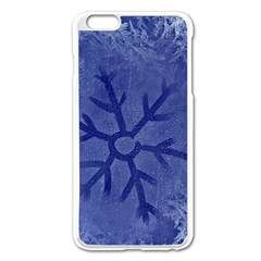 Winter Hardest Frost Cold Apple Iphone 6 Plus/6s Plus Enamel White Case by Celenk