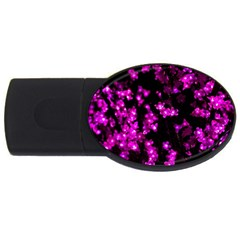 Abstract Background Purple Bright Usb Flash Drive Oval (4 Gb) by Celenk