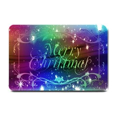 Christmas Greeting Card Frame Small Doormat  by Celenk