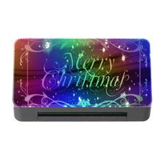 Christmas Greeting Card Frame Memory Card Reader With Cf by Celenk