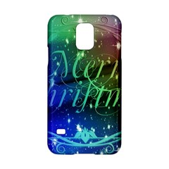 Christmas Greeting Card Frame Samsung Galaxy S5 Hardshell Case  by Celenk